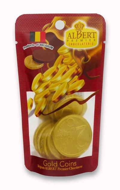アルバート チョコレート スタンドパック表面