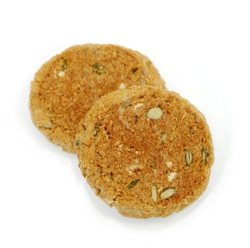 ベイクハウス グラノーラクランチー ナッツ&シードクッキー 中身