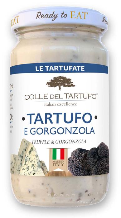 コレデルタルトゥフォ トリュフ&ゴルゴンゾーラチーズ トリュフソース 表面