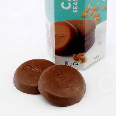ドロステ チョコレート キャラメルシーソルト 中身
