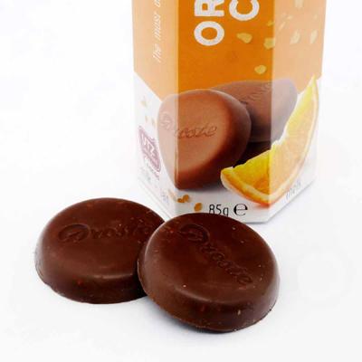 ドロステ チョコレート オレンジクリスプ中身