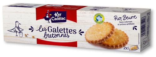 ケルカディラック ガレット クッキー 表面