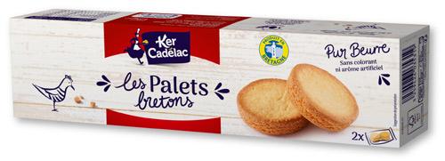 ケルキャディラック パレット クッキー 表面
