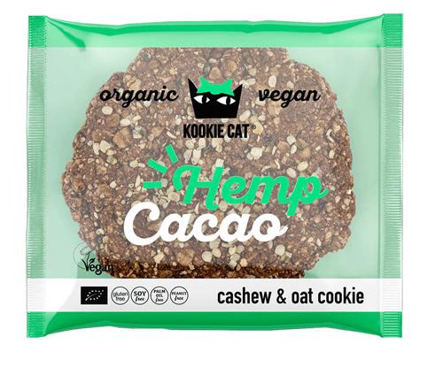 クッキーキャット ヘンプ&カカオ クッキー 表