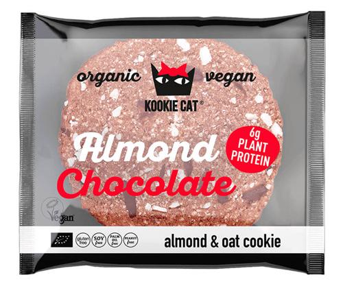 クッキーキャット アーモンドチョコレート プロテイン 表