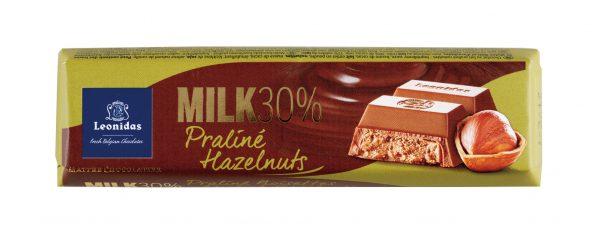 レオニダス30%ミルクプラリネヘーゼルナッツ