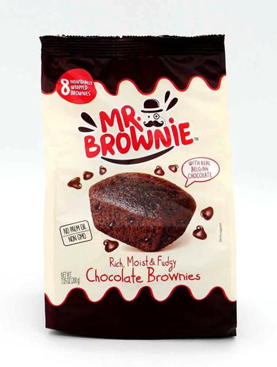 ミスターブラウニー チョコ表面
