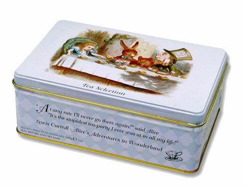 ニューイングリッシュティー 不思議の国のアリス イングリッシュブレックファスト アフタヌーンティー アールグレイ 紅茶 表面