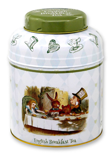 ニューイングリッシュティー 不思議の国のアリス イングリッシュブレックファスト 80p 紅茶 表面