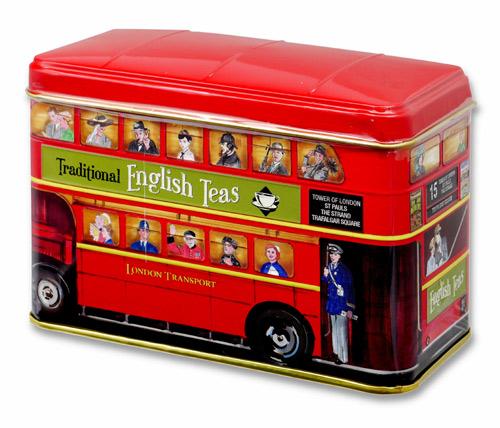 ニューイングリッシュティー ロンドンバス アフタヌーンティー 紅茶 表面