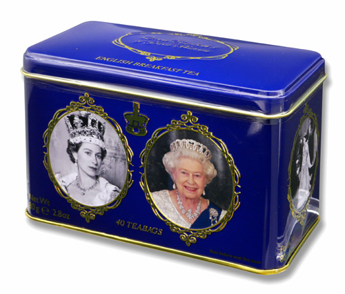 ニューイングリッシュティー エリザベス女王 イングリッシュブレックファスト 紅茶 表面