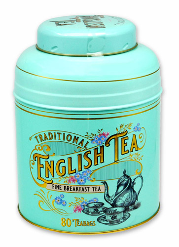 ニューイングリッシュティー ヴィンテージビクトリアン イングリッシュブレックファスト 80p 紅茶 表面