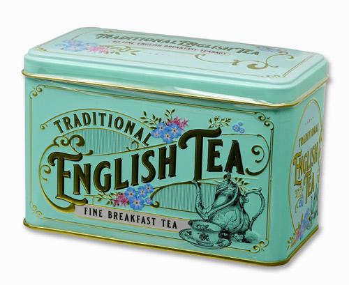 ニューイングリッシュティー ヴィンテージビクトリアン イングリッシュブレックファスト 紅茶 表面
