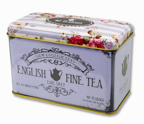 ニューイングリッシュティー ヴィンテージフローラル アールグレイ 紅茶 表面