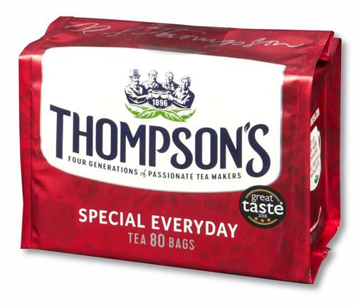 トンプソンズティー スペシャルエブリディ 紅茶 表面