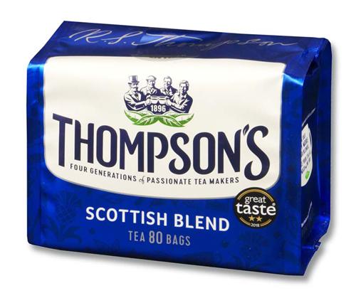 トンプソンズティー スコティッシュブレンド 紅茶 表面
