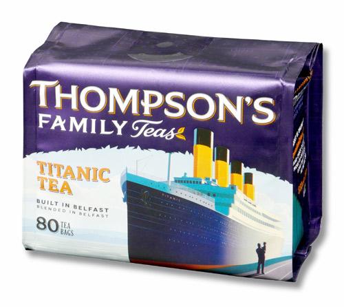 トンプソンズティー タイタニックブレンド 紅茶 表面