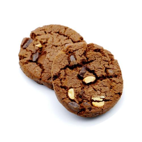 ベイクハウス トリプルチョコチャンククッキー 中身